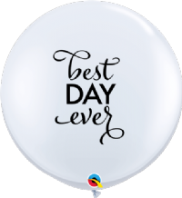 3ft Giant Balloons -  Simply Best Day Ever 3ft Balloon 1pc